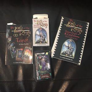LOTR Tarot Card Deck & Game